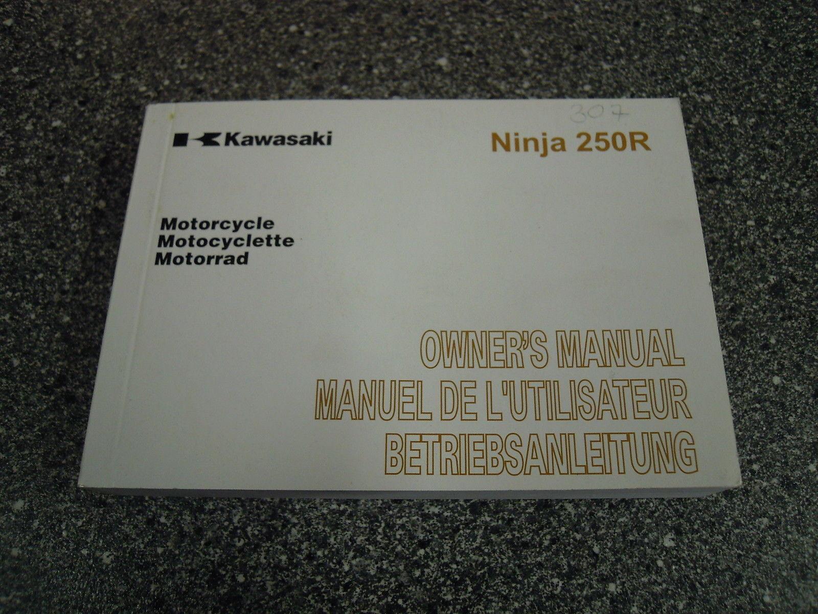 Bedienungsanleitung Kawasaki Ninja 250r Ex250kb 99976 1582 Deutsch 307